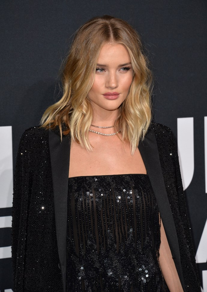 Rosie Huntington-Whitely is the queen of perfectly done-but-undone hair, and now you can recreate her sexy waves yourself.