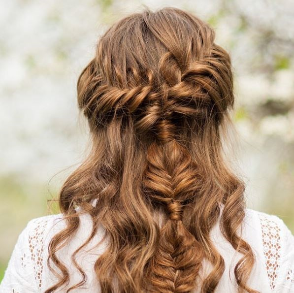 Make like Khaleesi with this princess-inspired style.