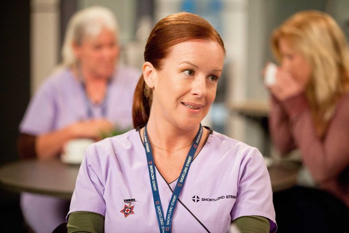 Jacquie's role as a grieving mother is a far cry from the one she played as the much-loved Wendy on *Shortland Street*.