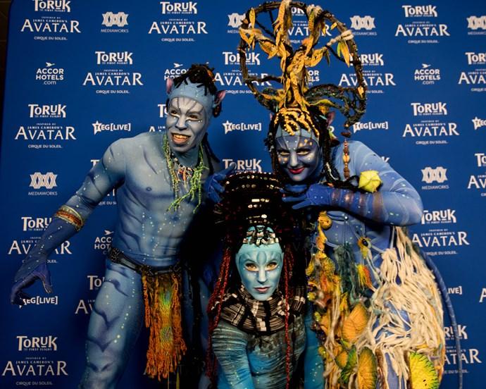 Toruk performers.