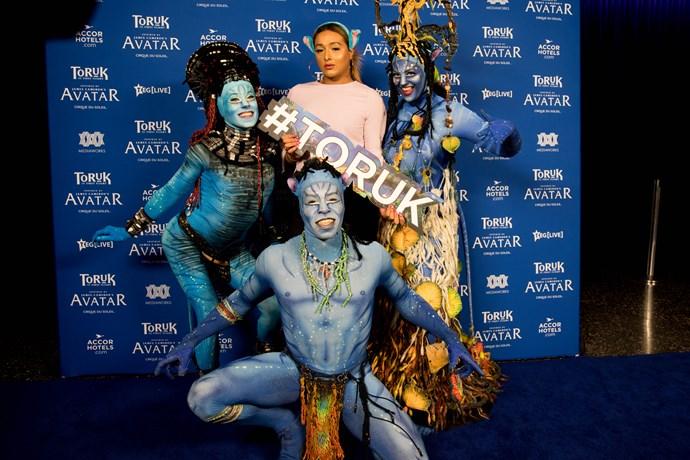 Kris Fox with Tork performers,