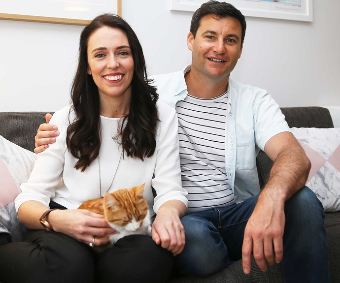 "Mum adores Jacinda's boyfriend Clarke. ""They're a very good match. He makes her happy."""