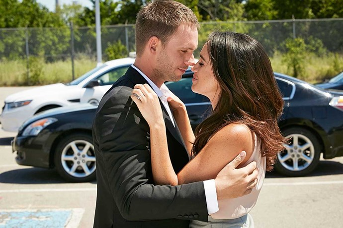 Love scenes between Meghan and her Suits co-star Patrick Adams could be tricky.