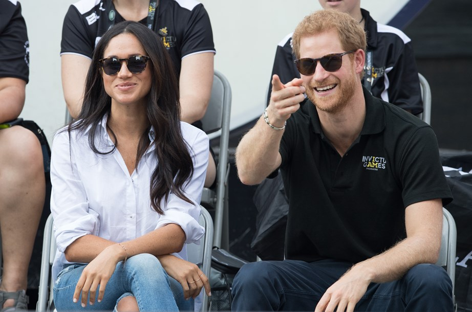 The Invictus Games in Toronto also happened to be the first time Harry and Meghan stepped out together publicly as a couple. *(Image: Getty)*