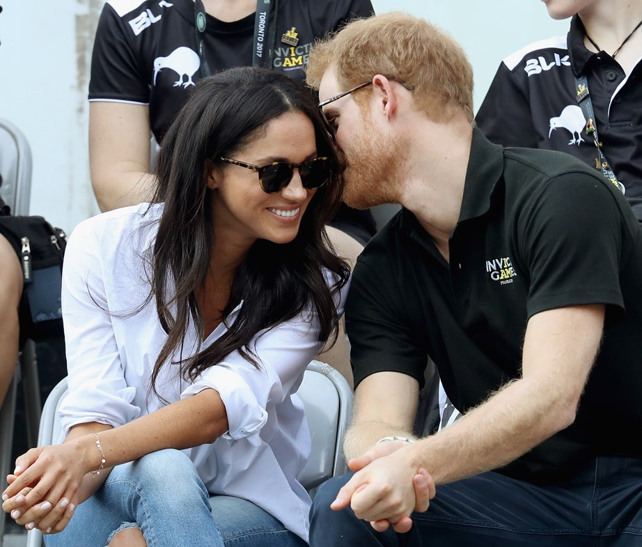 "She maintained her incredible style while dating Prince Harry. Here she is at the [2017 Invictus Games](https://www.nowtolove.co.nz/celebrity/royals/prince-harry-and-meghan-markle-at-the-invictus-games-34416|target=""_blank"") in jeans and ballet flats!"