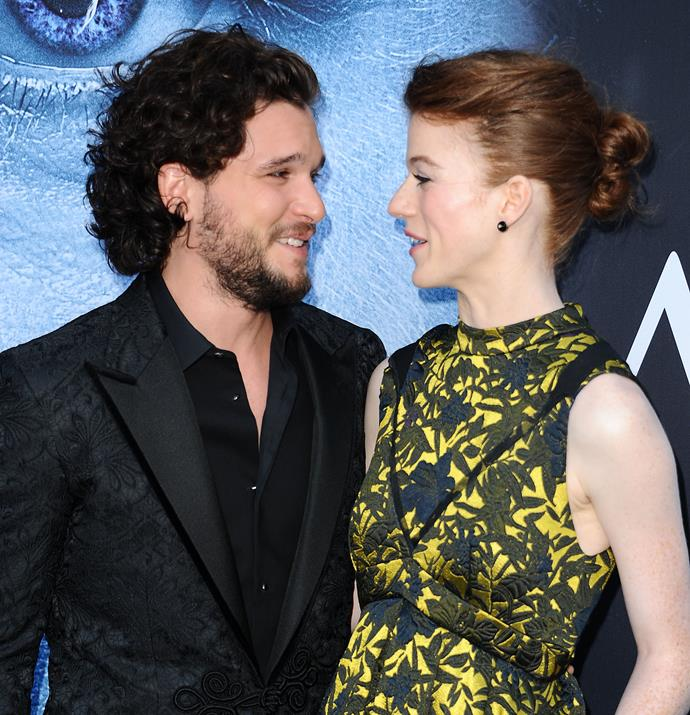 The pair at the season 7 premiere of Game of Thrones.