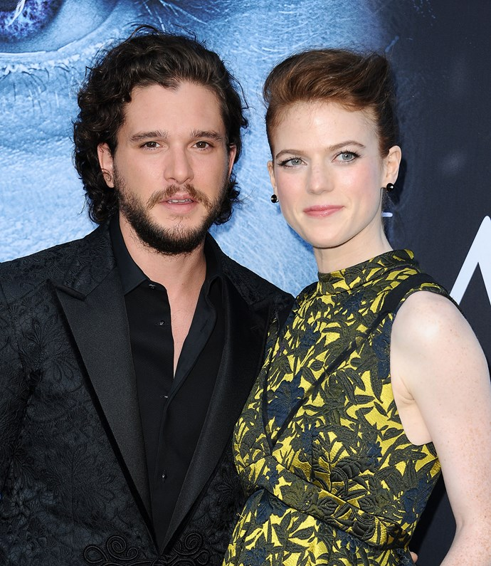 Engaged Game of Thrones stars related