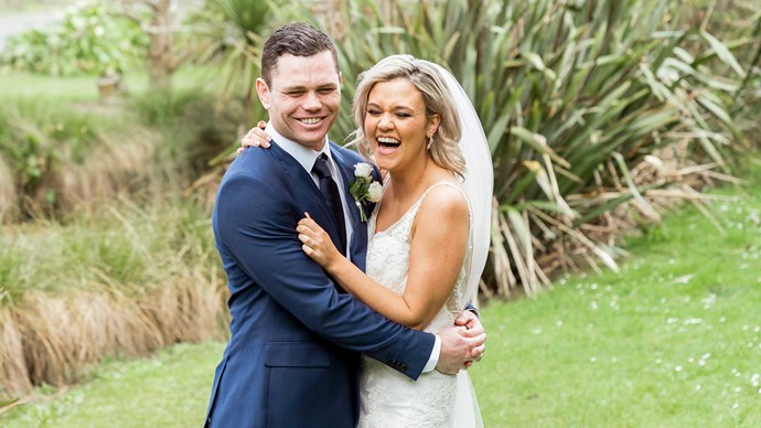 Married at First Sight NZ: Brett and Angel's wedding