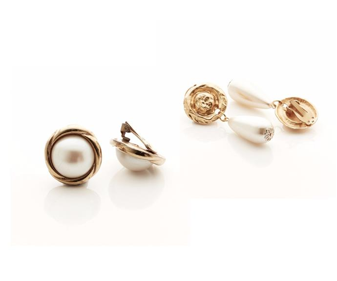 Costume jewellery makes playing with pearls even more interesting, especially if the styles nod to the 80s and 90s statement earrings. Oversized clip-ons amp up the glam - pair with a t-shirt or summer knit to keep the look casual.   From left: Earrings, $79, and $89, from [Homage](https://homageonline.co.nz).