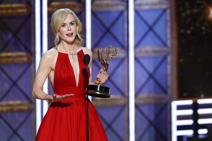 "When Nicole Kidman received an Emmy award last week, she thanked her longtime friend Miranda in her acceptance speech.   Nicole (50) gushed, ""I have a huge artistic family who have supported me through all of my ups and downs... You have been so loyal to me through my whole life, thank  you for that."" She then named Miranda as one of her closest confidantes.   Miranda says the pair have a ""great relationship"" and she often acts as a sounding board for Nicole.   She has nothing but praise for the Aussie actress. ""Honestly, I do not know how she's managed to be such a perfect human being with the insane lifestyle she must lead!"""