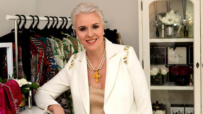 The fashion expert who helps women put together their perfect wardrobe