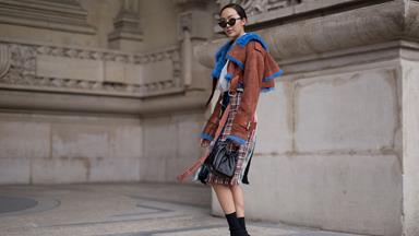 Tres chic street style at Paris Fashion Week
