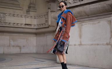Tres chic street style at Paris Fashion Week