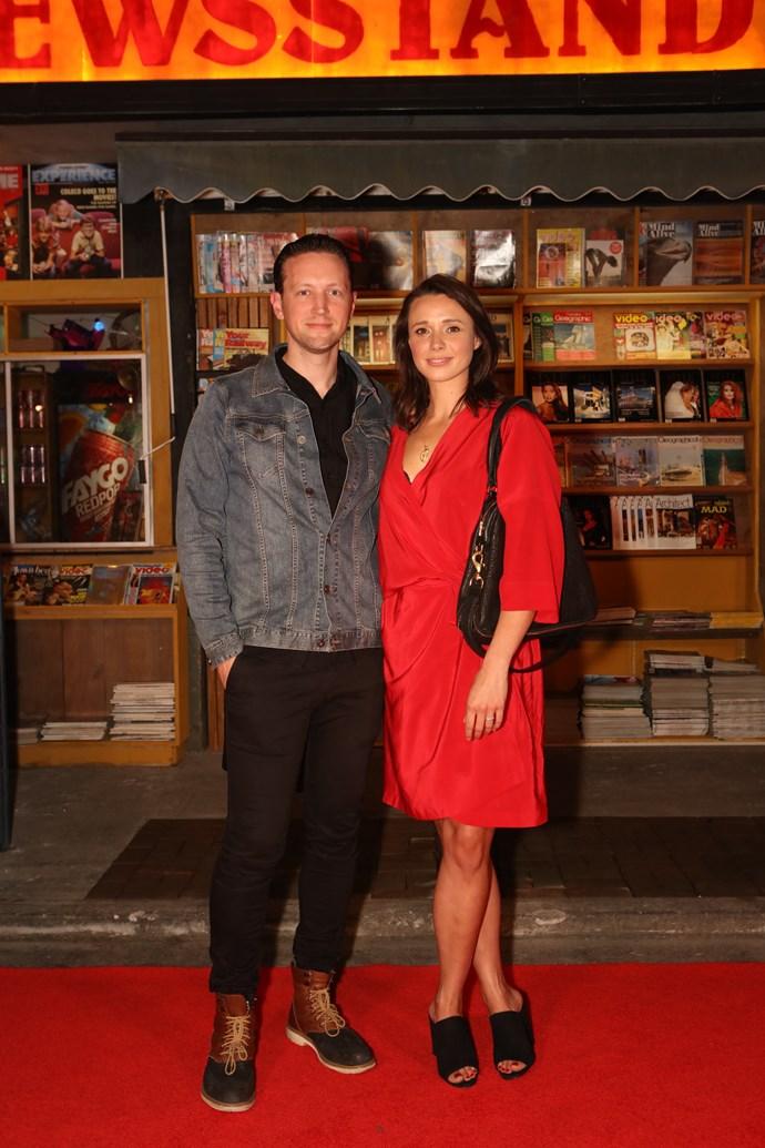 Anna Jullienne and James Kermode.