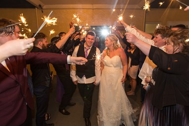Wedding of the week: Jess and Chris Munro-Hill