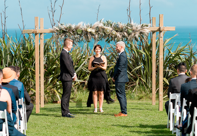 Married at First Sight NZ: Ben and Aaron's wedding