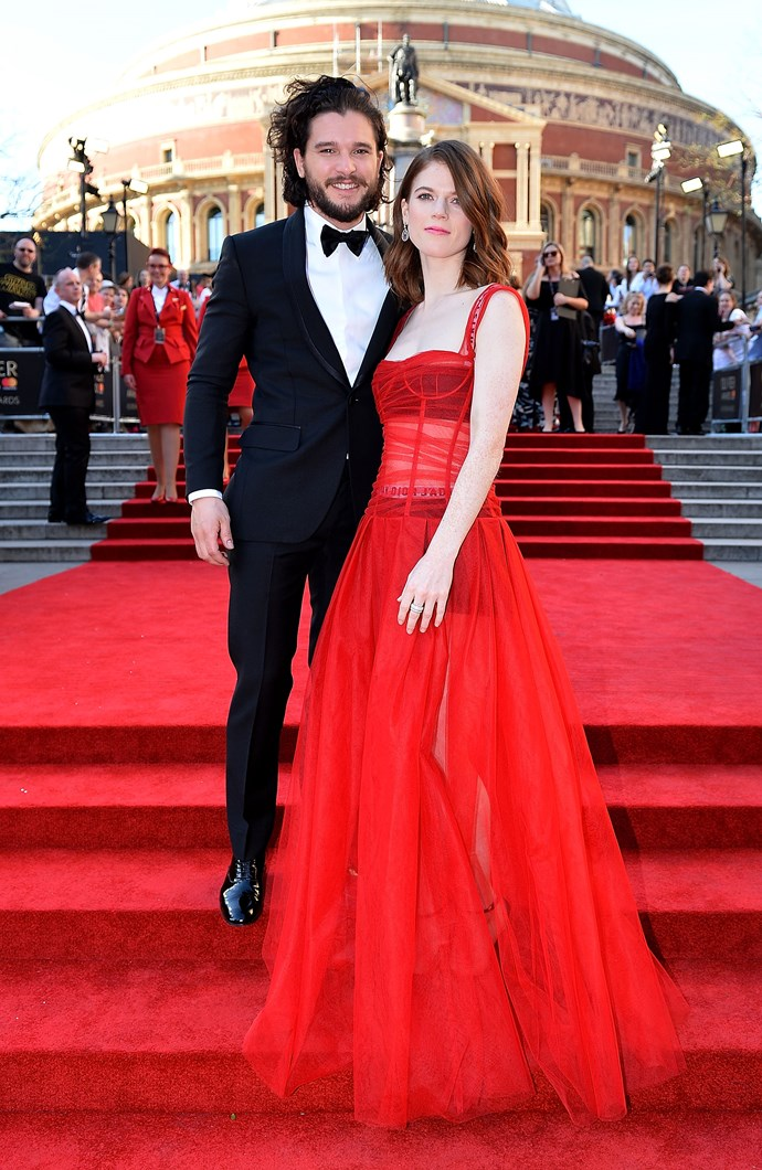 The acting duo at The Olivier Awards.