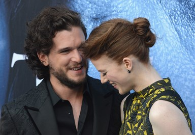 Kit Harrington hilariously explains his proposal to Game of Thrones co-star Rose Leslie