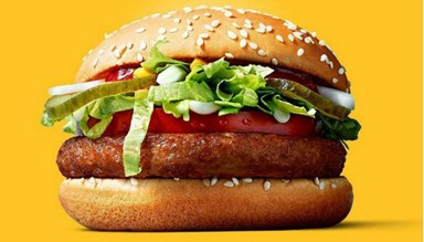 McDonald's is trialing a vegan burger