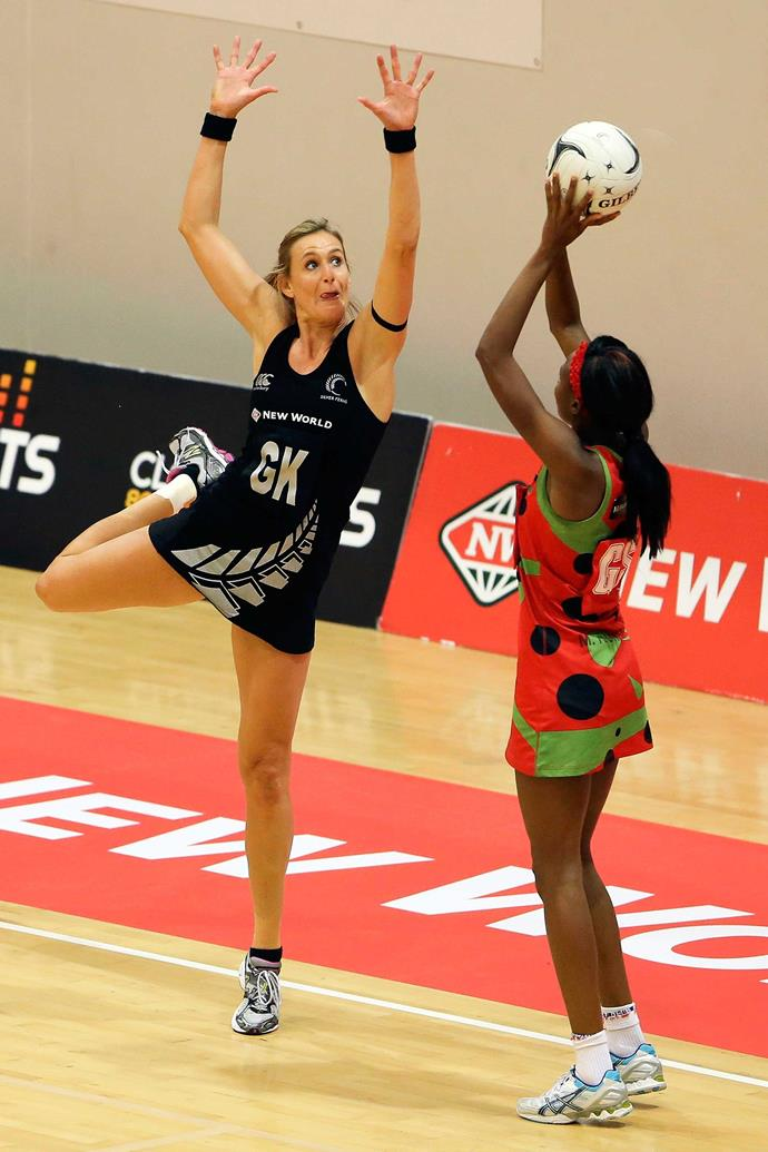 The star represented New Zealand 104 times before retiring from international netball in 2016.