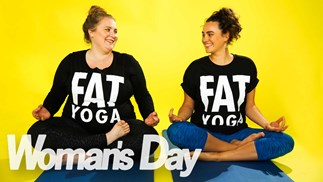 Two Kiwi women on a mission to promote kindness through Fat Yoga