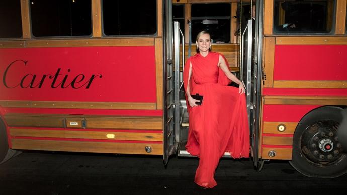 Diane Kruger, best dressed this week