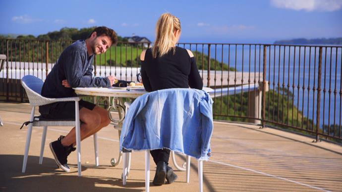 'I'm unsure whether it's a romantic thing or a friendship thing' -  Vicky and Andrew's rocky honeymoon