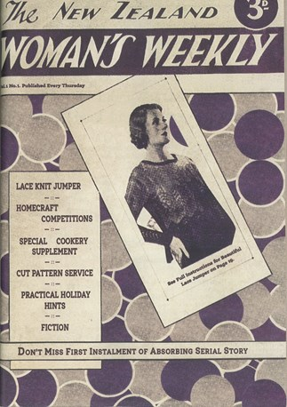 *New Zealand Woman's Weekly*'s first ever issue, December 8, 1932