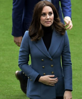 Kate makes second surprise appearance this week