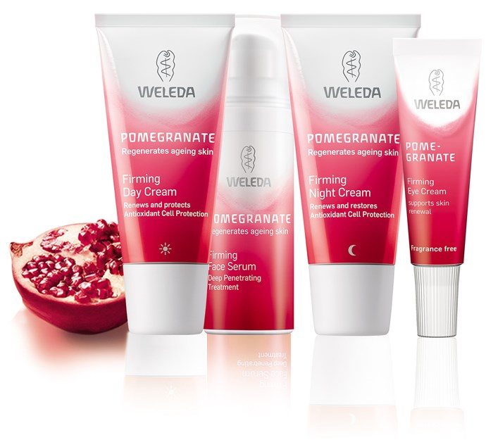 Win a Weleda Pomegranate Facial Care set!
