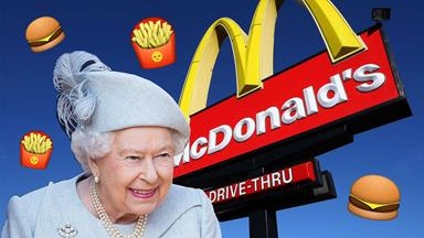 The Queen's secret McDonald's connection