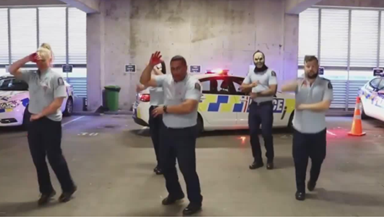 NZ Police make Thriller dance video - just in time for Halloween