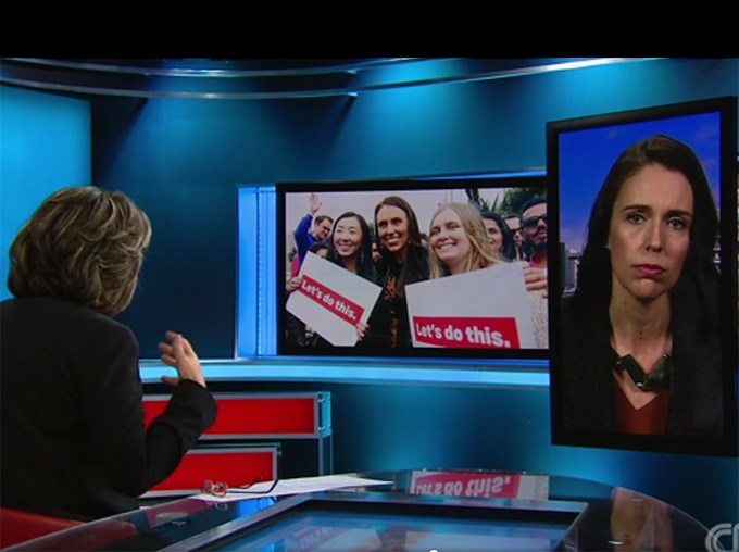 Jacinda Ardern tackles sexism, refugees and coalition questions in CNN interview