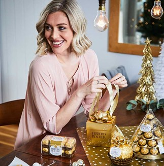 Get ready for Christmas with Ferrero Rocher