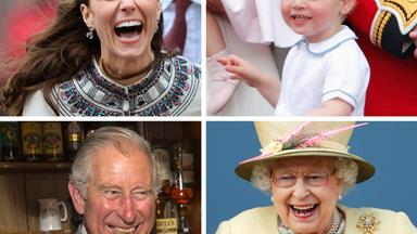 The British Royal family reveal their most candid moments