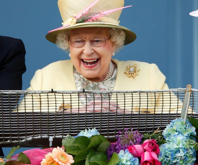 And there some delightful moments when Britain's longest reigning Monarch, now 91, shows her inner Lilibet!