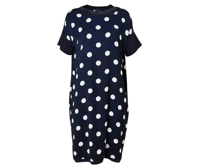Dress, $150, by Scope.