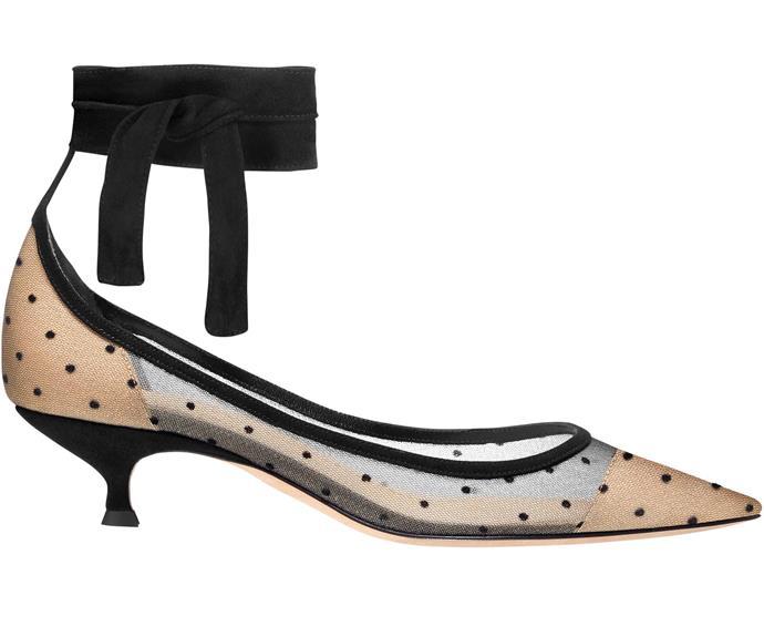 Heels, $1,300, by Dior.