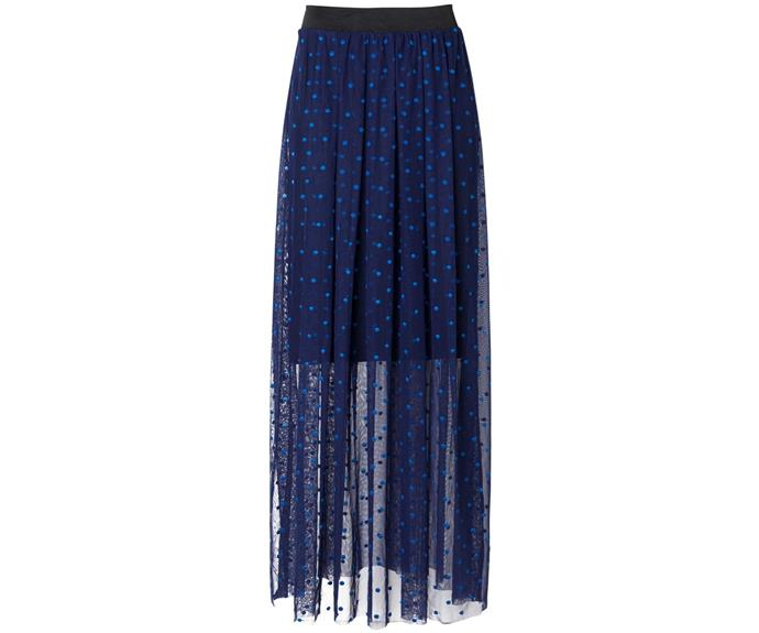 Skirt, $216, by Sheryl May.