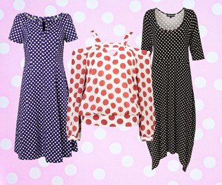 Why polka dots never go out of style