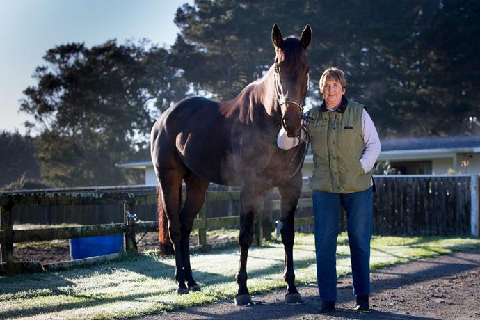 Sue Walsh swapped jockeying for horse training, but not before she became the first female to ride a winner.