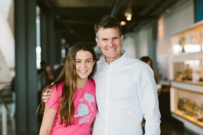 Steve and Riley Hathaway - the father-daughter duo from New Zealand who are changing the way  kids view the ocean and its inhabitants.    *Photographs by Richard Robinson*