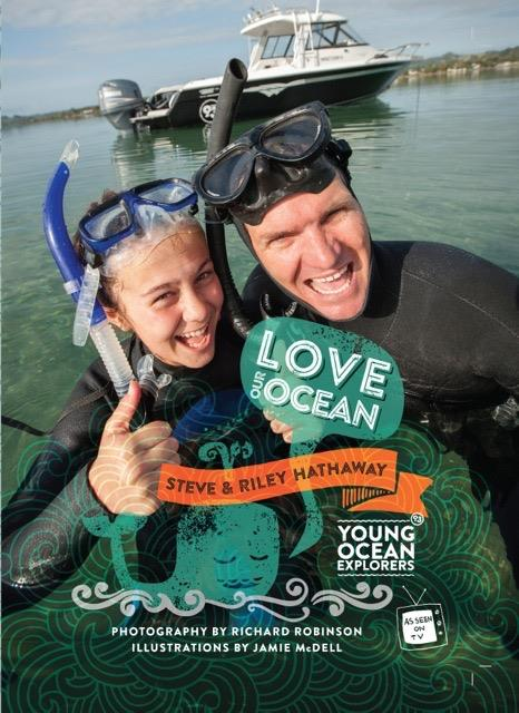 Steve and Riley's Young Ocean Explorers book