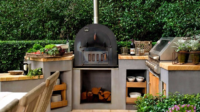 How to create an outdoor kitchen for summer entertaining