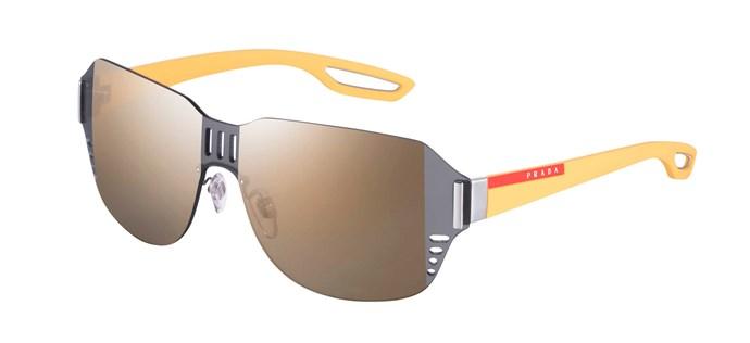 Sunglasses, $380, by Prada Linea Rossa.