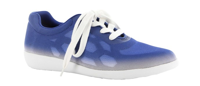 Trainers, $150, by Ziera.