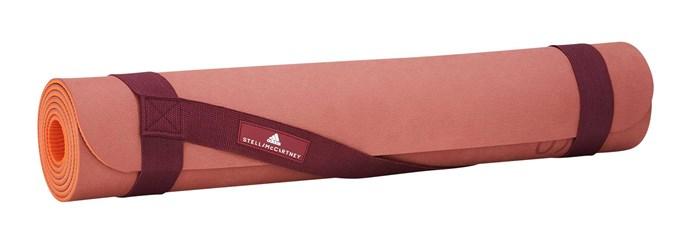 Yoga mat, $120, by Adidas by Stella McCartney.