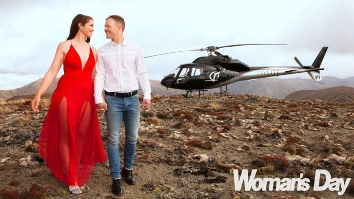 Sarah Walker's movie-star proposal