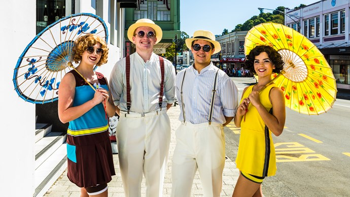Be in to win a VIP prize package to the Tremains Art Deco Festival