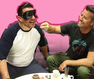 Pete and Manu's blind taste test